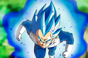 Vegita SSJ Blue Full Pawer