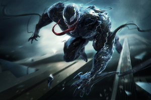 Venom 8k Movie Artwork Wallpaper