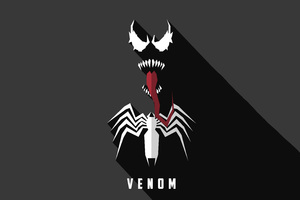 Venom Artwork 5k Wallpaper