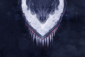 Venom Artwork Hd Wallpaper