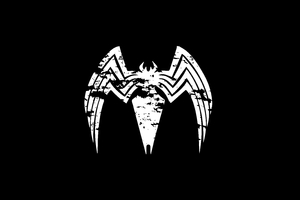 Venom Logo 4k Wallpaper