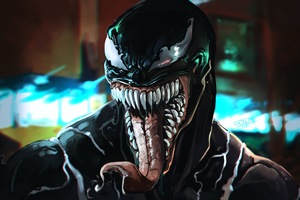 Venom Movie Art