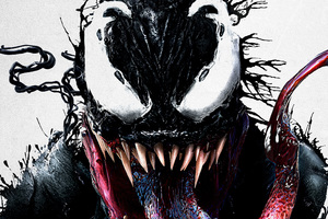 Venom Movie Imax Poster Wallpaper