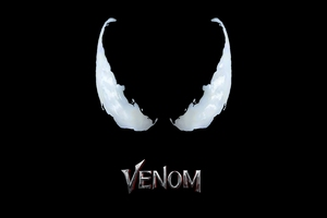 Venom Movie Logo 4k Wallpaper
