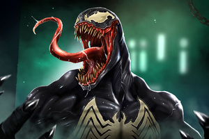 Venom Pop Culture Art Wallpaper