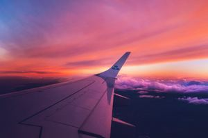 View Outside Airplane