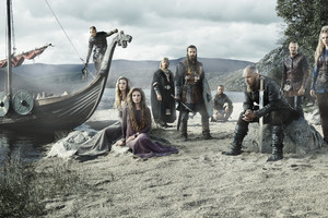 Vikings Cast 5k Wallpaper