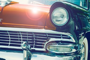 Vintage Car Headlight