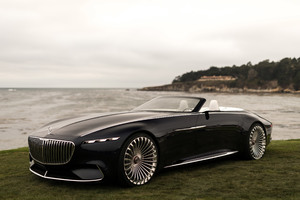 Vision Mercedes Maybach 6 Cabriolet 2017 4k Wallpaper