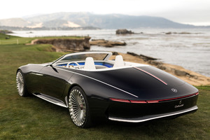 Vision Mercedes Maybach 6 Cabriolet 2017 Rear Wallpaper