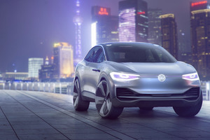 Volkswagen ID Crozz Concept 2017 Wallpaper