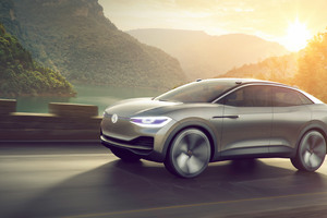 Volkswagen ID Crozz Concept Car Wallpaper