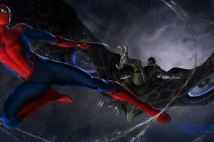 Vulture In Spider Man Homecoming Concept Art