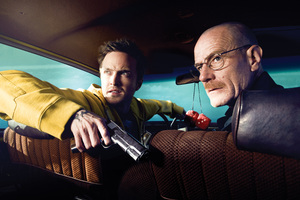 Walter White And Jesse Pinkman Breaking Bad 4k Wallpaper