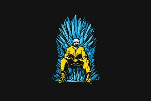 Walter White Game Of Thrones Minimalism Wallpaper