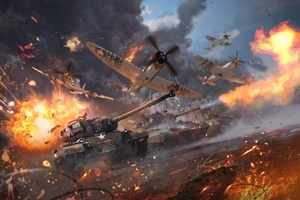 War Thunder Video Game 4k Wallpaper