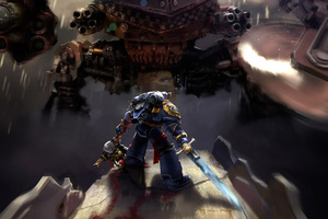 Warhammer 40k Space Marine Ultramarines