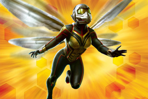 Wasp In Ant Man And The Wasp Movie 2018 Wallpaper