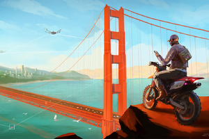 Watch Dogs 2 Concept Artwork Wallpaper