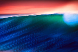 Waves Abstract 5k Wallpaper