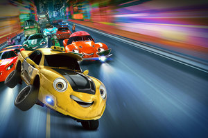 Wheely Animated Movie 2018 Wallpaper