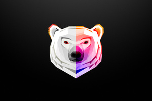 White Bear Artwork 8k