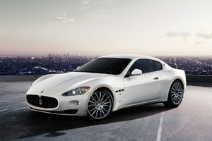 White Maserati Wallpaper