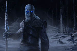 White Walkers Artwork HD Wallpaper