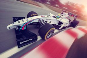 Williams 2014 F1 Car Wallpaper