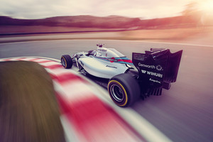 Williams 2014 F1 Car Rear Wallpaper