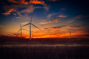 Wind Turbine Wallpaper