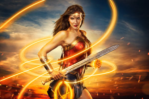 Wonder Woman 4k Cosplay Wallpaper