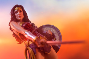 Wonder Woman 5k Collectible Photography Wallpaper