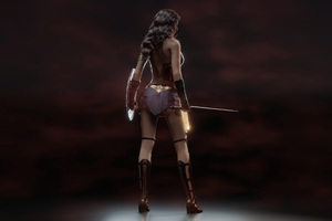 Wonder Woman 5k Digital Art