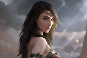 Wonder Woman Artwork 4k 2018 Wallpaper