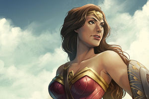 Wonder Woman Artwork HD