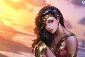 Wonder Woman Fan Art Wallpaper