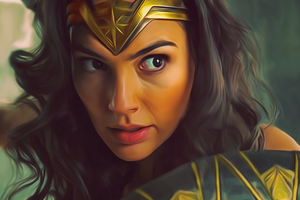 Wonder Woman Gal Gadot Diana Prince Wallpaper