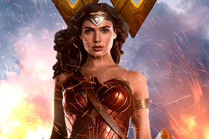Wonder Woman Gal Gadot New 4k