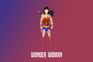 Wonder Woman Illustration 4k Wallpaper