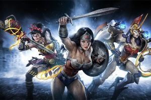 Wonder Woman Infinite Crisis Wallpaper