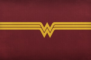 Wonder Woman Logo 2 Wallpaper