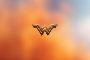 Wonder Woman Logo 4k