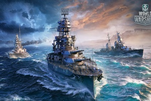 World Of Warships 2017 Wallpaper
