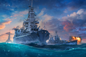 World Of Warships 2019 Wallpaper