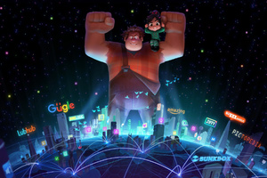 Wreck It Ralph 2 2018 Movie Wallpaper