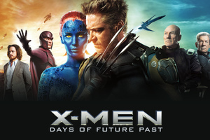 X Men Days Of Future Past Banner Wallpaper