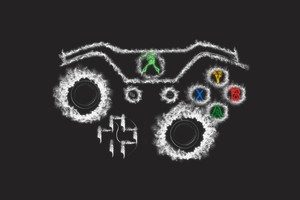 Xbox Controller Art Wallpaper
