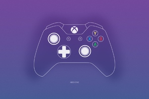 Xbox One Controller Minimalism Wallpaper