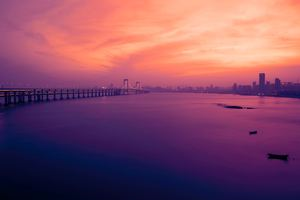 Xinghai Bridge Wallpaper